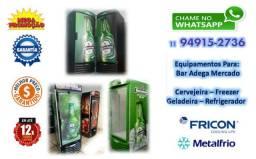 Refrigerador MetalFrio