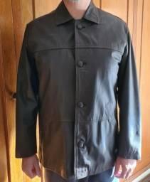 Título do anúncio: Jaqueta masculina em couro legítimo novo