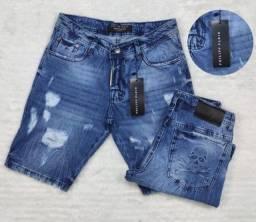 Título do anúncio: Bermuda Jeans Philipp Plein