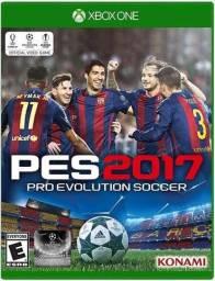 Pes 2017 Xbox one semi novo.