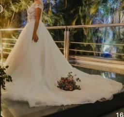 Título do anúncio: Vestido de noiva Cymbeline Paris