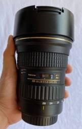 Título do anúncio: Lente Tokina Canon 16 28mm
