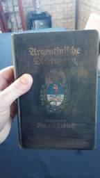 Livro em alemão sobre a argentina