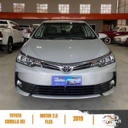 Título do anúncio: Toyota Corolla XEI - 2019 - Prata - Automático - 82.000Km