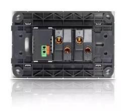 Título do anúncio: Interruptor Duplo Com Carregador Usb Turbo _ C131