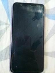Vendo celular Samsung j8 novinho motivo estou precisando de dinheiro urgente