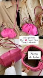 Título do anúncio: Bolsa Rosa