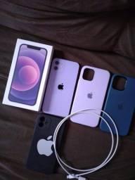 Título do anúncio: Iphone 12 64gb roxo