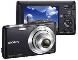 """Título do anúncio: Câmera Digital DSC-W620 com 14.1 Mpx, LCD 2.7"""", 5x Zoom Óptico, Panorâmica, Pret<br><br>"""