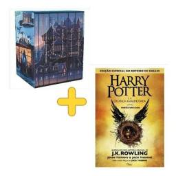 Box coleção Harry Potter (7 livros) + A criança amaldiçoada