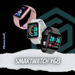 Título do anúncio: SmartWatch Y68/D20 - Troca Foto na Tela