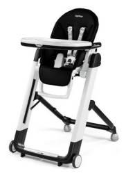 Cadeira Refeição - Marca Peg Perego Modelo Siesta - Cor Marrom