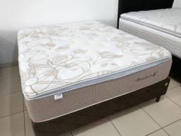 Título do anúncio: Presidencially Plumatex + cama box queen size apenas 2099,99 apenas!
