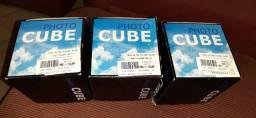 3 fhoto cube na caixa sem uso