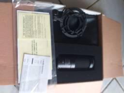 Microfone condensador AUDIO TECNICA AT2050 PROFISSIONAL JAPÃO ESTÚDIO