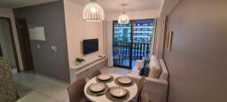 Vende-se flat 2 quartos 55m no Cupe Beach Living