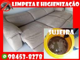 Título do anúncio:  Limpeza ou Impermeabilização de Estofados