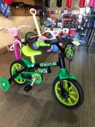 Bicicleta aro 12 Nathor *pronta entrega*