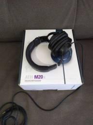 Fone de ouvido profissional ATH-M20X
