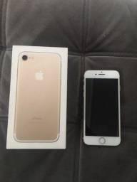 Título do anúncio: Iphone 7 Gold 256 GB Sem nenhum arranhão