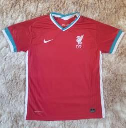 Camisa Liverpool L.F.C Nova