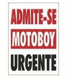 Título do anúncio: Contratando motoboy