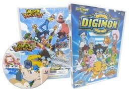 Box Dvd Digimon 1 Adventure + Digimon 2 Zero Dublado