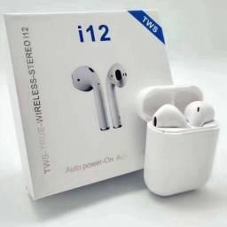 Airpods fone e microfone Bluetooth novo