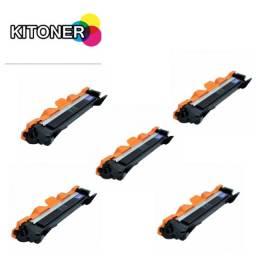 Kit 5x Toner TN1060 P/ HL1202 HL1212 DCP1617