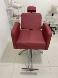 Título do anúncio: Cadeira Estetica Hidráulica Reclinável