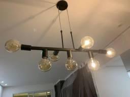 Título do anúncio: Lustre / luminária pendente com defeito elétrico