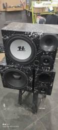 Título do anúncio: Caixa trio caixa de som som para carro