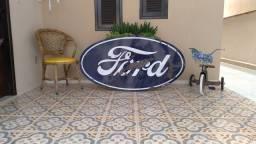 Título do anúncio: Placa Esmaltada Ford Antiga