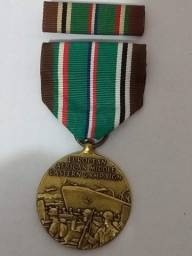 Medalha 2 guerra campanha americana Europa-África