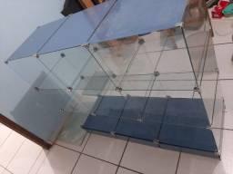 Título do anúncio: Prateleira de vidro 9 gavetas ideal para lojistas