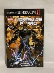 Hq Homem de Ferro N°05 - Um novo Vingador Blindado