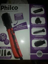 Escova modeladora/4em1.secador.escova rotativa,modeladora,difusor,chapinha