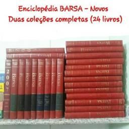 Coleção - Enciclopédia Barsa 2 coleções completas