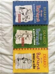 Livros : DIÁRIO DE UM BANANA 2,3,4