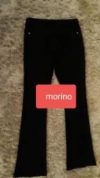 Calça em poliester e elastano marca Morino tamanho M
