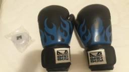 Luvas de Boxe/MuayThay e protetor bucal