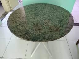 Desapegando - mesa redonda de mármore