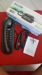 Telefone Com Fio Elgin TCF-1000 Gondola C/ Redial Preto