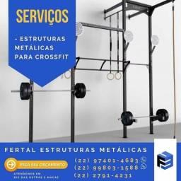 Estruturas Metálicas para CrossFit
