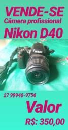 Câmera Profissional Nikon D40