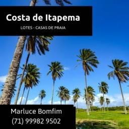 Lotes - Costa de Itapema, Apenas 10% de Entrada e Sem Comprovação de Renda,