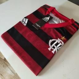 Camisas do Flamengo novo modelo P M G GG