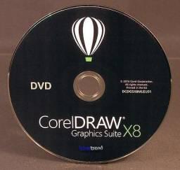 Dvd de instalaçao do coreldraw
