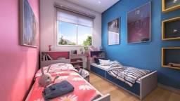 Apartamento em condominio clube com jardim privativo com 2 dormitórios à venda, 46 m² por