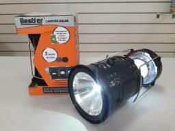 Lampião/lanterna solar de led